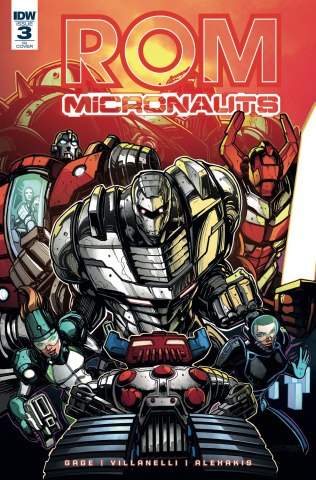 ROM & The Micronauts #3 (10 Copy Cover)