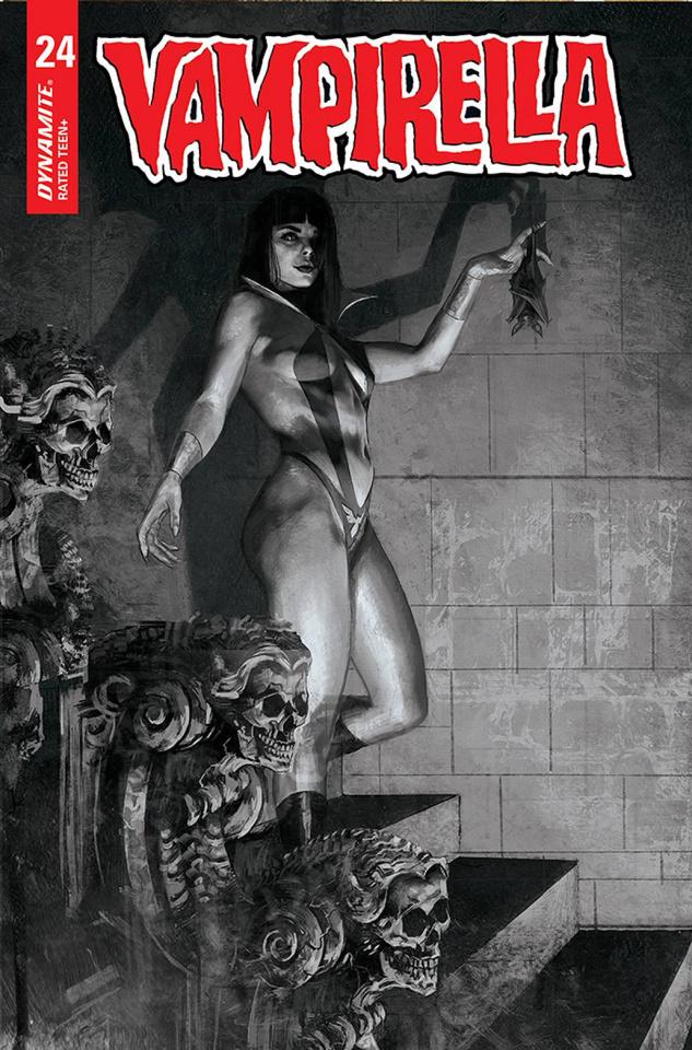 Vampirella #24 (40 Copy Parrillo Virgin Cover)
