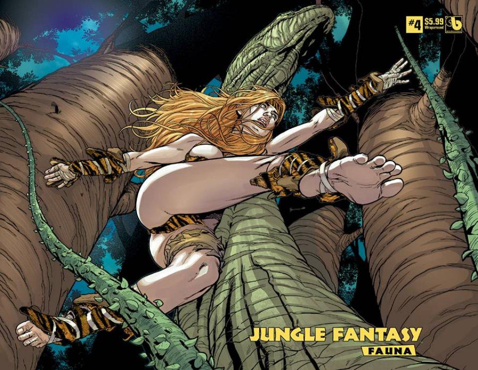 Jungle Fantasy: Fauna #4 (Wrap Cover)