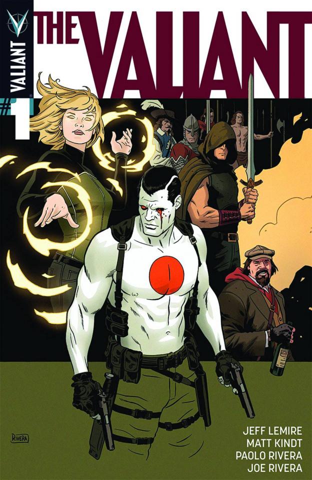The Valiant #1 (2nd Printing)