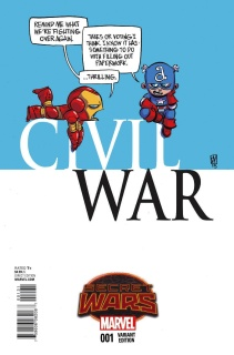 Civil War #1 (Young Cover)