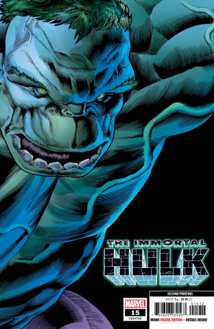 The Immortal Hulk #15 (Bennett 2nd Printing)