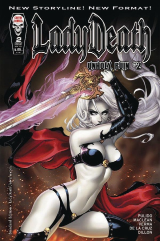 Lady Death: Unholy Ruin #2