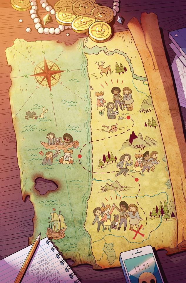 Misfit City #1 (15 Copy Map Ganucheau Cover)