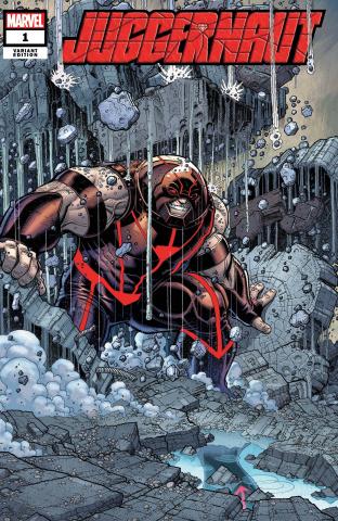 Juggernaut #1 (Bradshaw Cover)