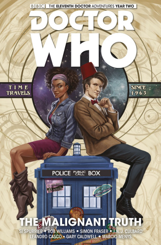 Doctor Who: New Adventures with the Eleventh Doctor, Year Two Vol. 6: The Malignant Truth