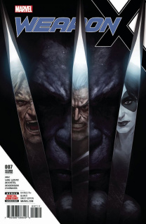Weapon X #7 (2nd Printing Skan Cover)