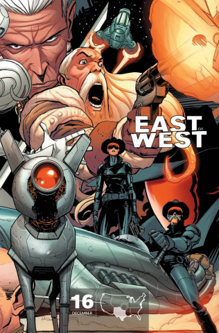 East of West #16 (Texas Cover)