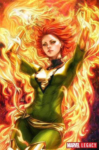 Phoenix Resurrection #1 (Artgerm Green Virgin Cover)