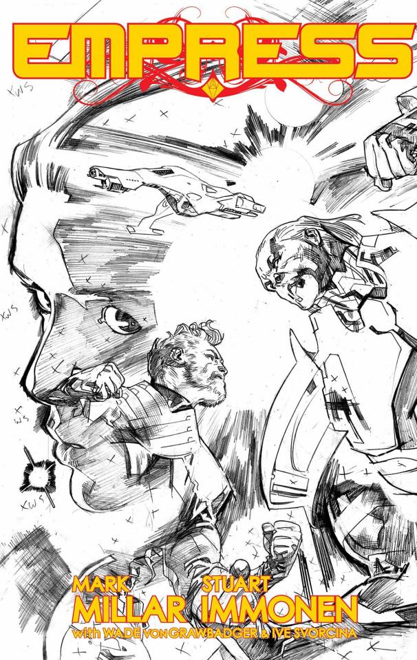Empress #7 (Immonen Sketch Cover)