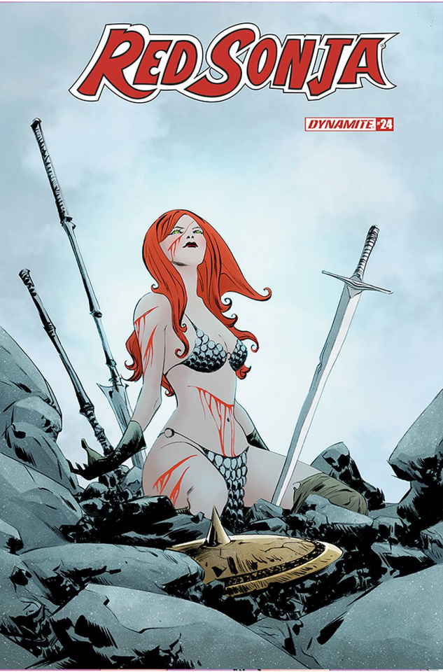 Red Sonja #24 (Lee Cover)