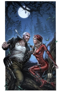 Grimm Fairy Tales: Red Riding Hood 10th Anniversary Special #2 (Krome Cover)