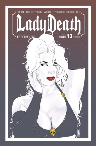 Lady Death #13 (Art Deco Variant Cover)