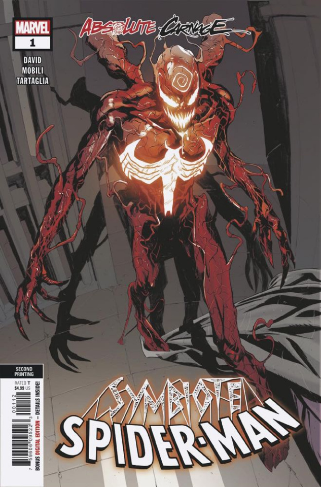 Absolute Carnage: Symbiote Spider-Man #1 (Mobili 2nd Printing)