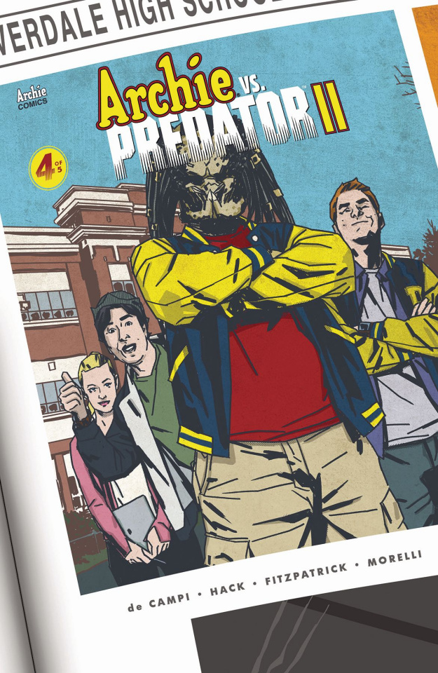 Archie vs. Predator II #4 (Smith Cover)