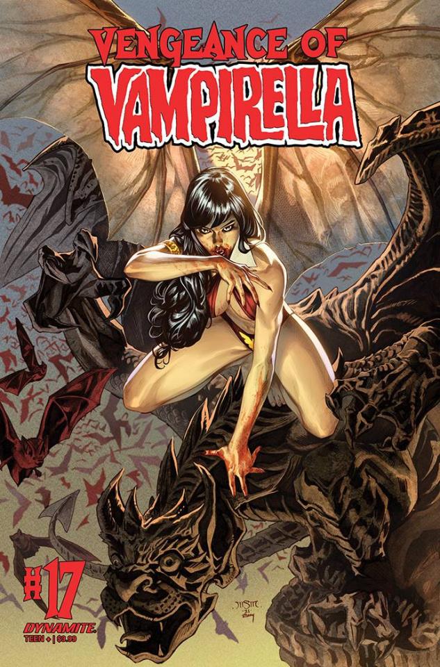 Vengeance of Vampirella #17 (Premium Sta Maria Cover)
