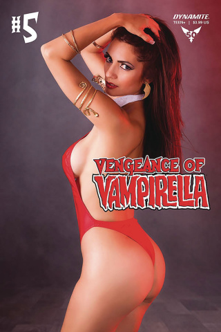 Vengeance of Vampirella #5 (Cosplay Cover)