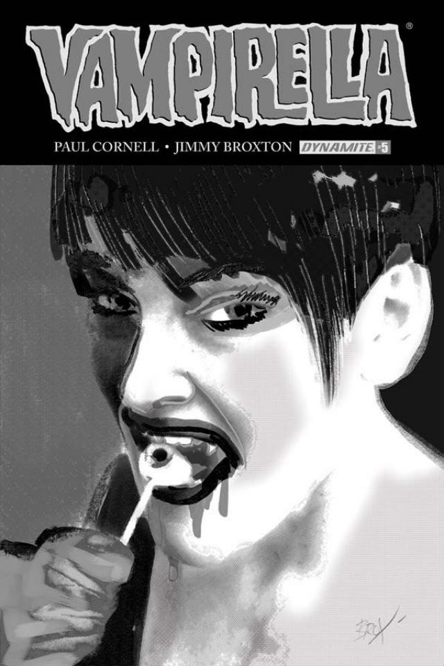 Vampirella #5 (30 Copy Broxton B&W Cover)