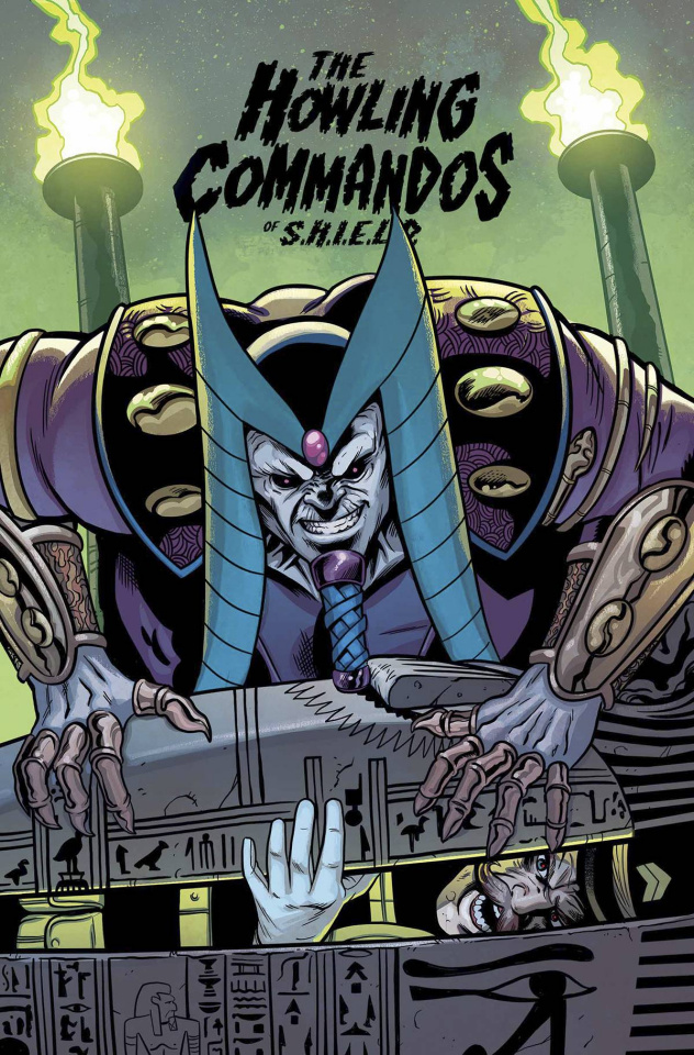 The Howling Commandos of S.H.I.E.L.D. #4