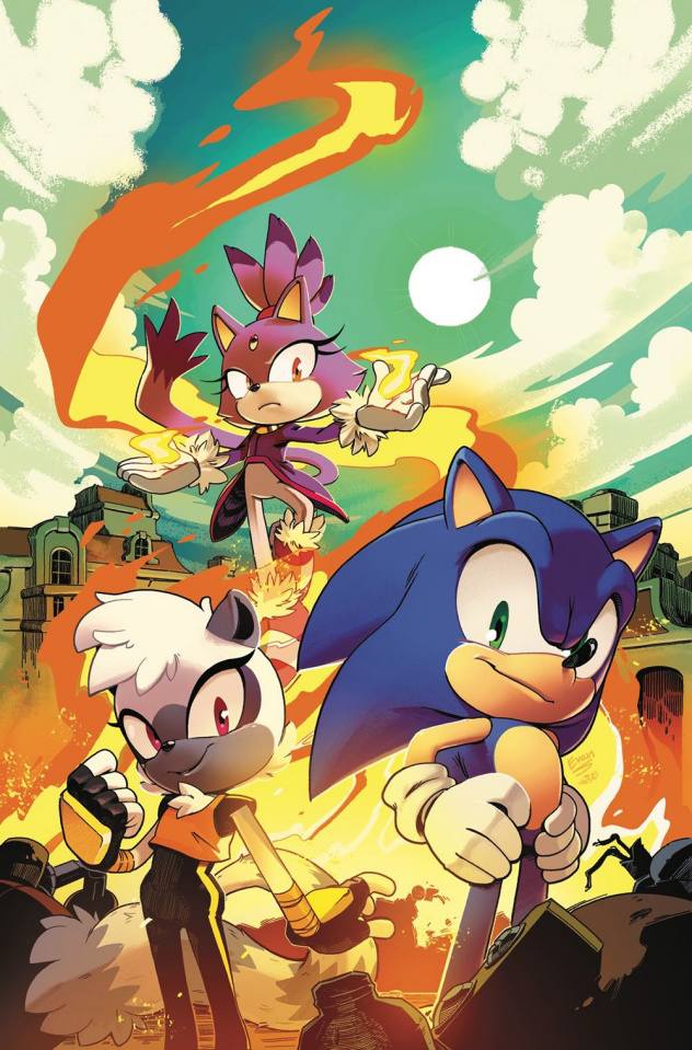 Sonic the Hedgehog #4 (Stanley Cover)