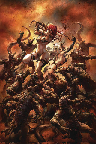 Red Sonja: Age of Chaos #6 (Quah Virgin Cover)