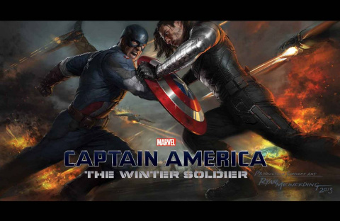The Winter Soldier: Art of the Movie Slipcase
