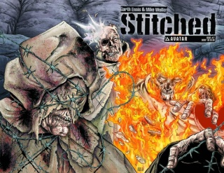 Stitched #7 (Wrap Cover)
