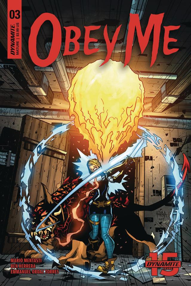 Obey Me #3 (Herrera Cover)