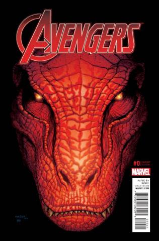 Avengers #0 (Marquez Kirby Monster Cover)