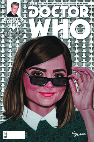 Doctor Who: New Adventures with the Twelfth Doctor, Year Two #5 (Myers Cover)