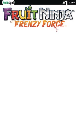 Fruit Ninja: Frenzy Force #1 (Blank Sketch Cover)