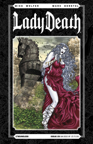 Lady Death #25 (San Diego VIP Cover)