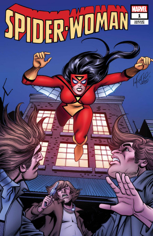 Spider-Woman #1 (Infantino Hidden Gem Cover)