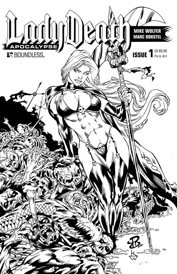 Lady Death: Apocalypse #1 (Premium Pure Art Cover)
