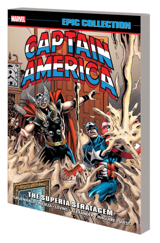 Captain America: Superia Stratagem (Epic Collection)