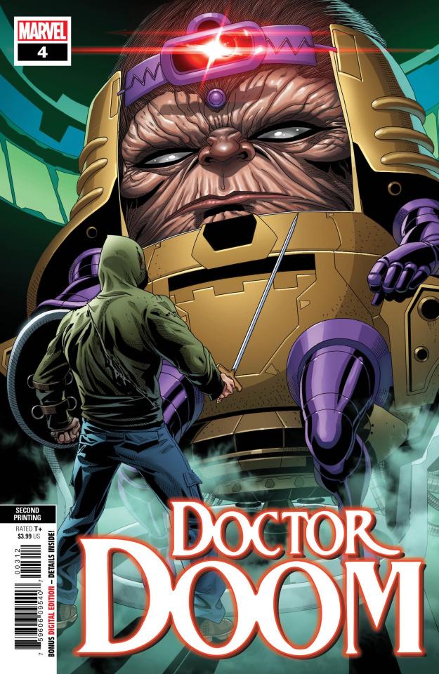Doctor Doom #4 (Larroca 2nd Printing)