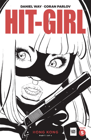 Hit-Girl, Season Two #5 (Parlov B&W Cover)