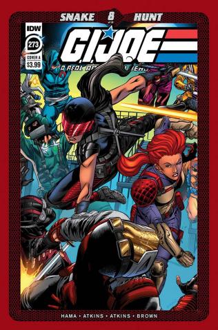 G.I. Joe: A Real American Hero #273 (Atkins Cover)