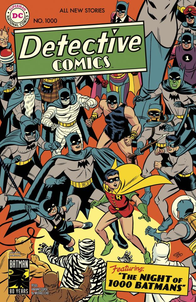 Detective Comics #1000 (1950s Cover)