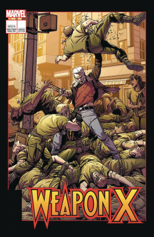 Weapon X #12 (Laming Cover)