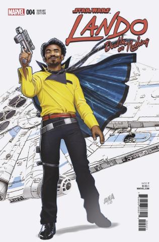 Star Wars: Lando - Double or Nothing #4 (Nakayama Cover)