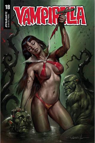 Vampirella #18 (Parrillo Cover)
