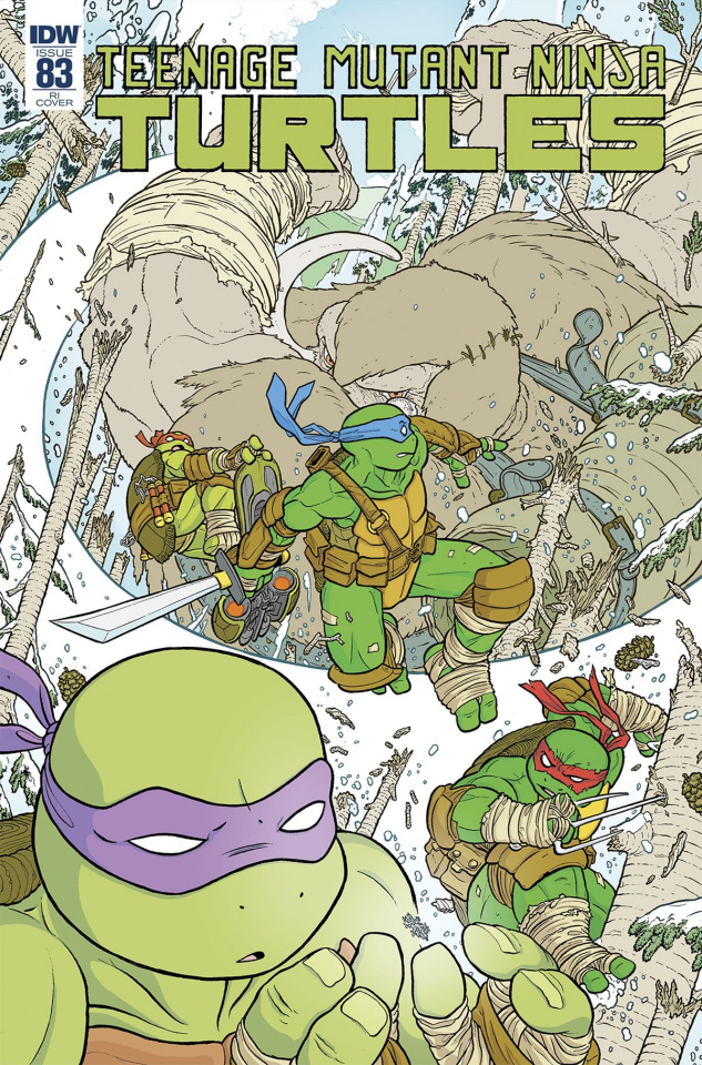 Teenage Mutant Ninja Turtles #83 (10 Copy Cover)