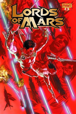 Lords of Mars #6 (Ross Cover)