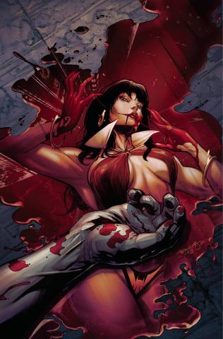 Vengeance of Vampirella #24 (10 Copy Segovia Virgin Cover)