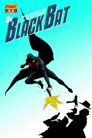 The Black Bat #5 (Lee Cover)