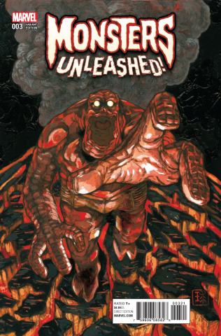 Monsters Unleashed! #3 (Qhayashida Cover)