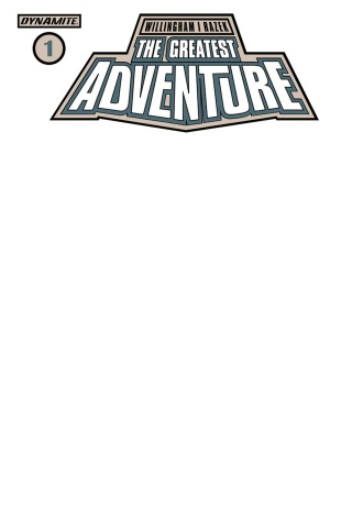 The Greatest Adventure #1 (Blank Authentix Cover)