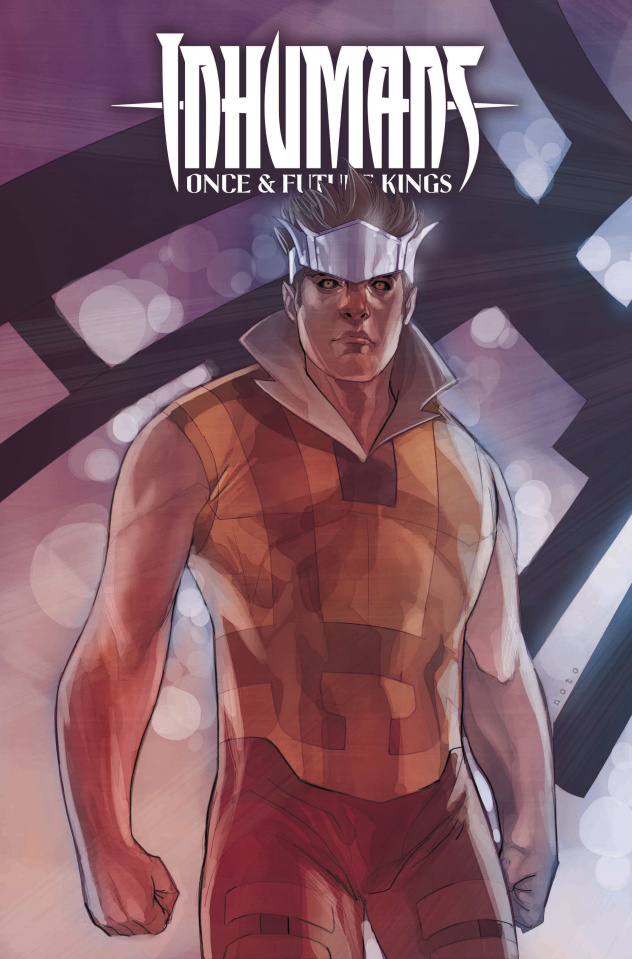 Inhumans: Once & Future Kings #3 (Noto Character Cover)