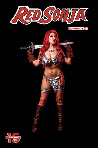 Red Sonja #10 (Cosplay Cover)